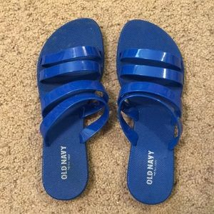 Blue Old Navy Slip Ons
